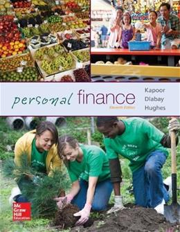 Personal Finance (McGraw-Hill/Irwin Series in Finance, Insurance, and Real Est) 11 9780077861643
