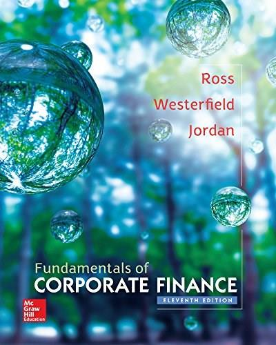 Fundamentals of Corporate Finance 11 9780077861704