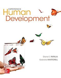 Experience Human Development, by Papalia, 13th Edition 9780077861841