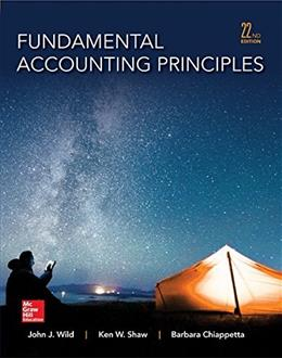 Fundamental Accounting Principles -Hardcover 22 9780077862275