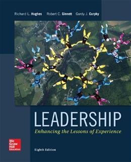 Leadership: Enhancing the Lessons of Experience 8 9780077862404
