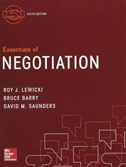 Essentials of Negotiation 6 9780077862466