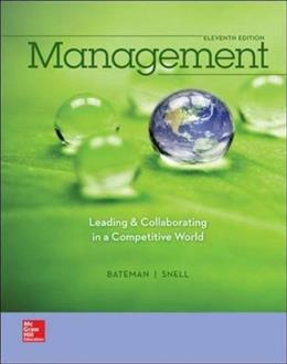 Management: Leading & Collaborating in a Competitive World 11 9780077862541