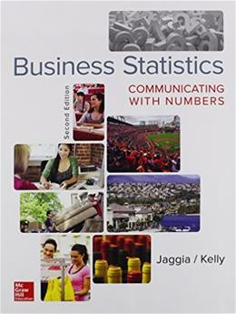 Business Statistics: Communicating with Numbers 2 9780078020551