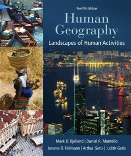 Human Geography: Landscapes of Human Activities 12 9780078021466