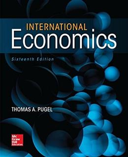 International Economics (Mcgraw-hill Series in Economics) 16 9780078021770