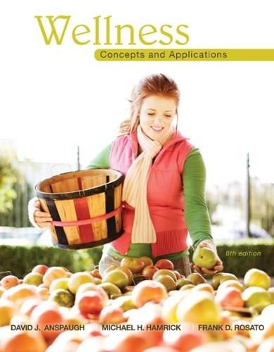 Wellness: Concepts and Applications 8 9780078022500