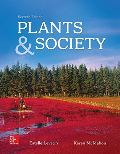 Plants and Society, by Levetin, 7th Edition 9780078023033