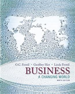 Business: A Changing World 9 9780078023132