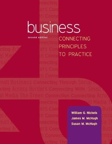 Business: Connecting Principles to Practice 2 9780078023149
