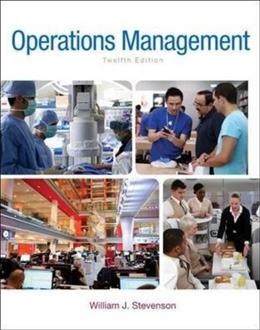 Operations Management (McGraw-Hill Series in Operations and Decision Sciences) 12 9780078024108