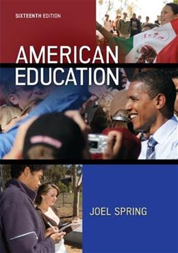 American Education 16 9780078024511