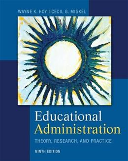 Educational Administration: Theory, Research, and Practice 9 9780078024528
