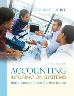 Accounting Information Systems, by Hurt, 3rd Revised Edition 9780078025334
