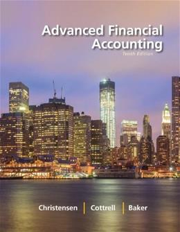 Advanced Financial Accounting 10 9780078025624