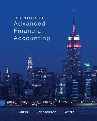 Essentials of Advanced Financial Accounting 1 9780078025648