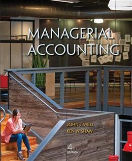 Managerial Accounting 4 9780078025686