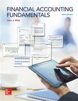 Financial Accounting Fundamentals: 5 9780078025754