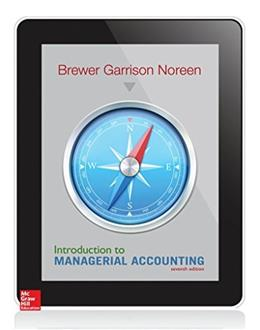 Introduction to Managerial Accounting 7 9780078025792