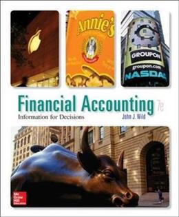Financial Accounting: Information for Decisions, 7th Edition 9780078025891