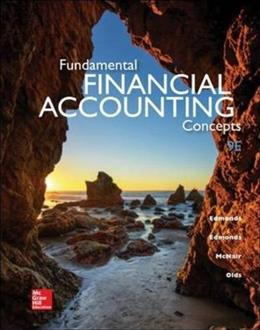 Fundamental Financial Accounting Concepts, 9th Edition 9780078025907