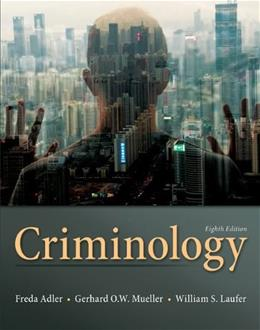 Criminology 8 9780078026423