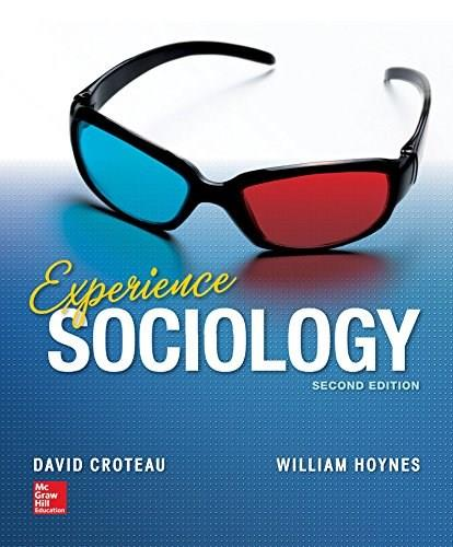 Experience Sociology 2 9780078026737