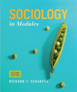 Sociology in Modules 2 9780078026812