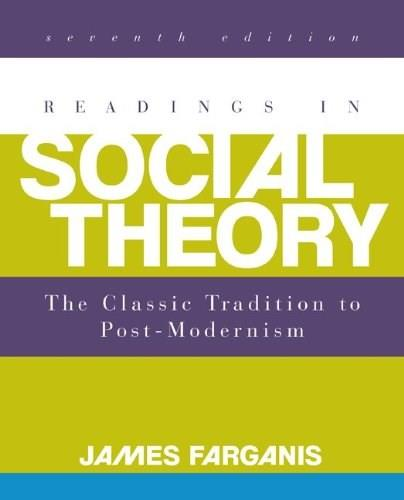 Readings in Social Theory 7 9780078026843