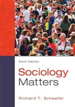 Sociology Matters 6 9780078026959