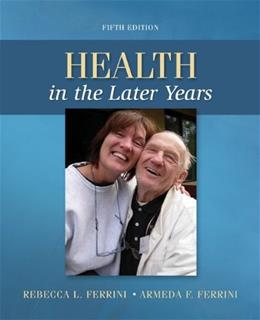 Health in the Later Years 5 9780078028496