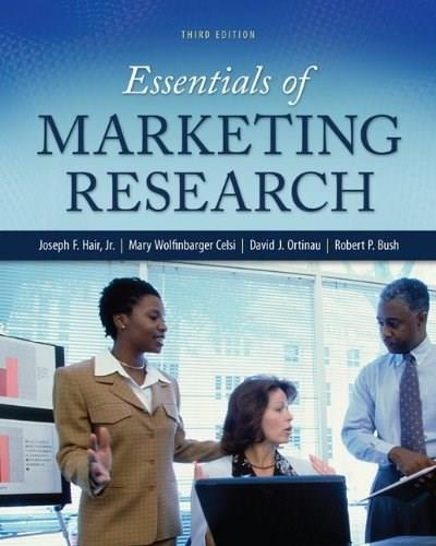 Essentials of Marketing Research 3 9780078028816