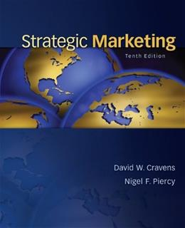 Strategic Marketing 10 9780078028908