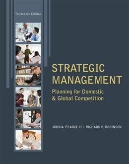 Strategic Management 13 9780078029295