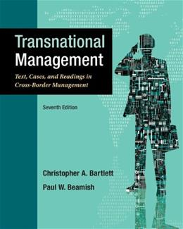 Transnational Management: Text, Cases & Readings in Cross-Border Management 7 9780078029394