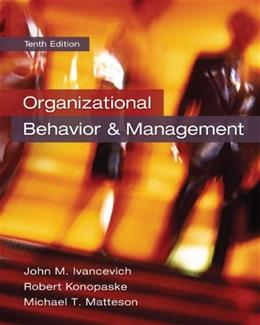 Organizational Behavior and Management 10 9780078029462
