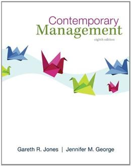 Contemporary Management, by Jones, 8th Edition 9780078029530