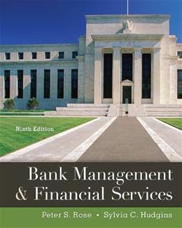 Bank Management & Financial Services 9 9780078034671