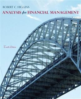 Analysis for Financial Management, 10th Edition 9780078034688