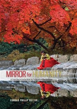 Mirror for Humanity: A Concise Introduction to Cultural Anthropology 9 9780078035050