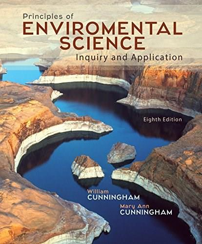 Principles of Environmental Science, by Cunningham, 8th Edition 9780078036071