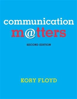 Communication Matters - Standalone book 2 9780078036866