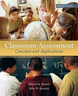 Classroom Assessment: Concepts and Applications, 7th Edition 9780078110214