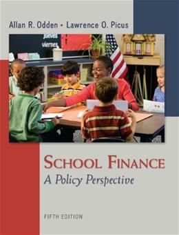 School Finance: A Policy Perspective 5 9780078110283