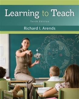 Learning to Teach 10 9780078110306