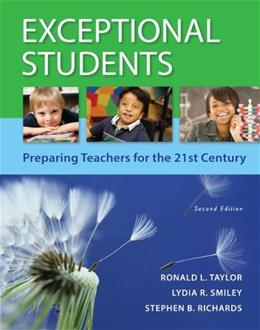 Exceptional Students: Preparing Teachers for the 21st Century 9780078110504