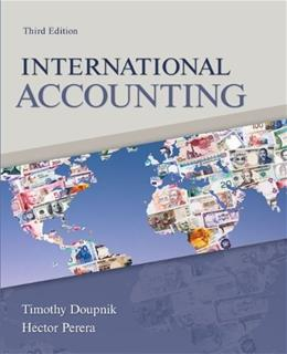 International Accounting, by Doupnik, 3rd Edition 9780078110955