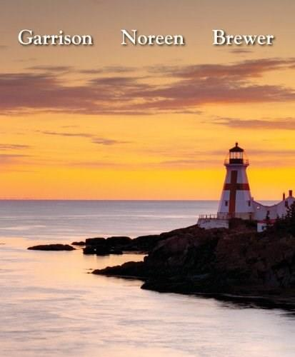 Managerial Accounting, by Garrison, 14th Edition 9780078111006