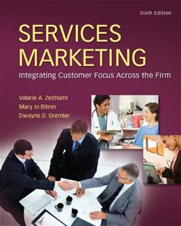 Services Marketing (6th Edition) 9780078112058