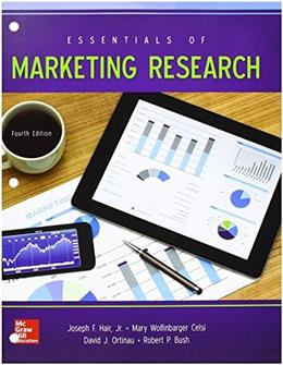 Essentials of Marketing Research, by Hair, 4th Edition 9780078112119